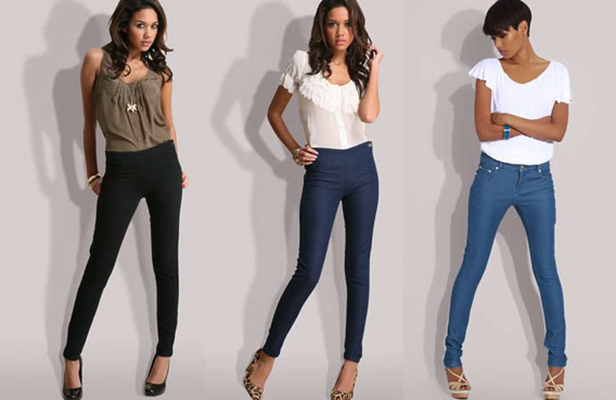 Jeggings: Tight Skinny Jeans Are Comfortable