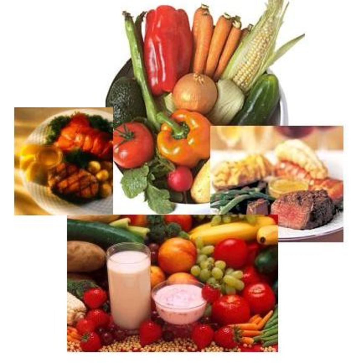 Eat fruits and vegetables ,but avoid sweet fruits like grapes and apple.