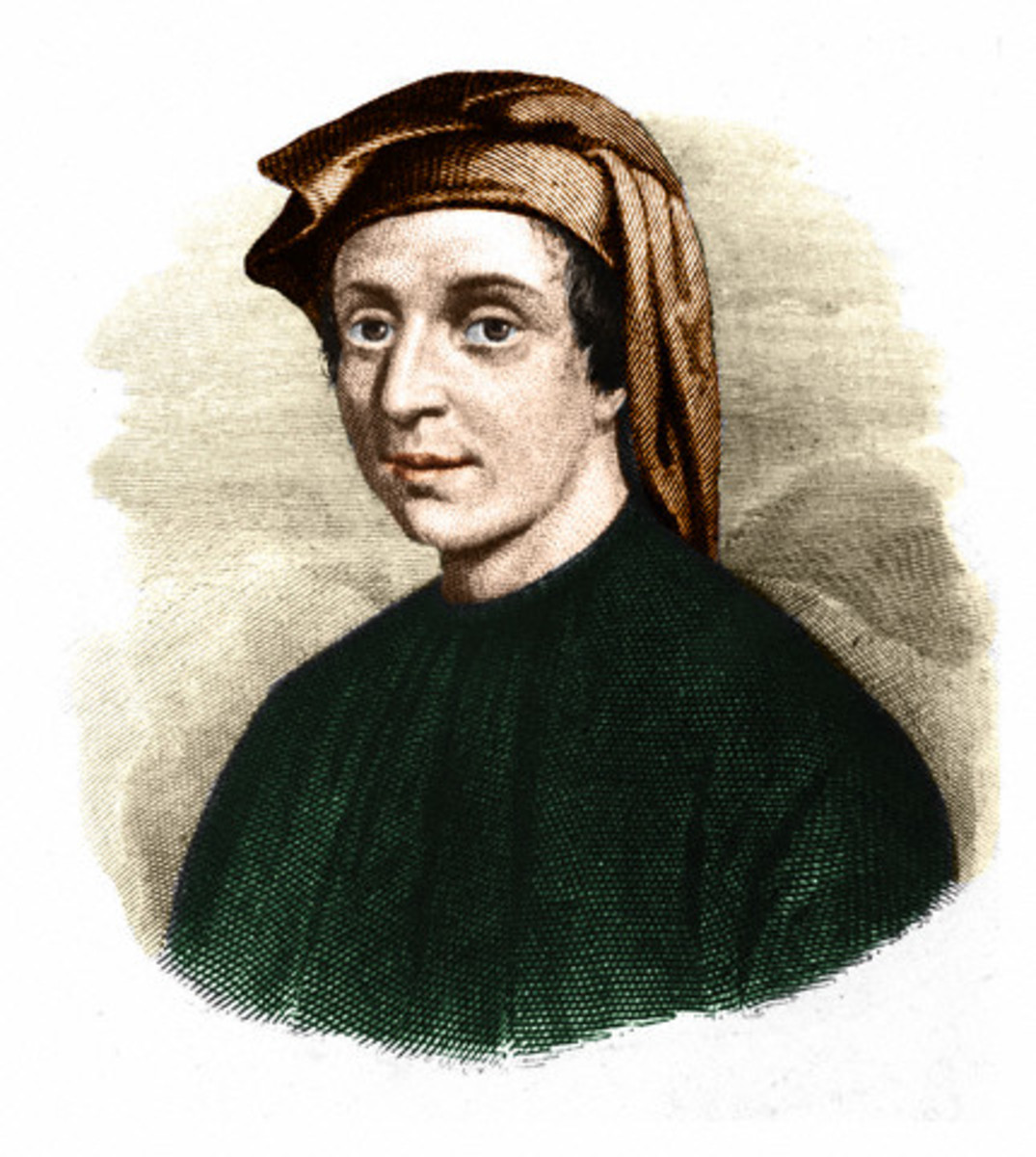 Fig. 2. Portrait of Leonardo Fibonacci (c.1170-c.1250), an Italian mathematician. Nowadays Fibonacci is best known for the number sequence named after him and for spreading Arabic numerical system.