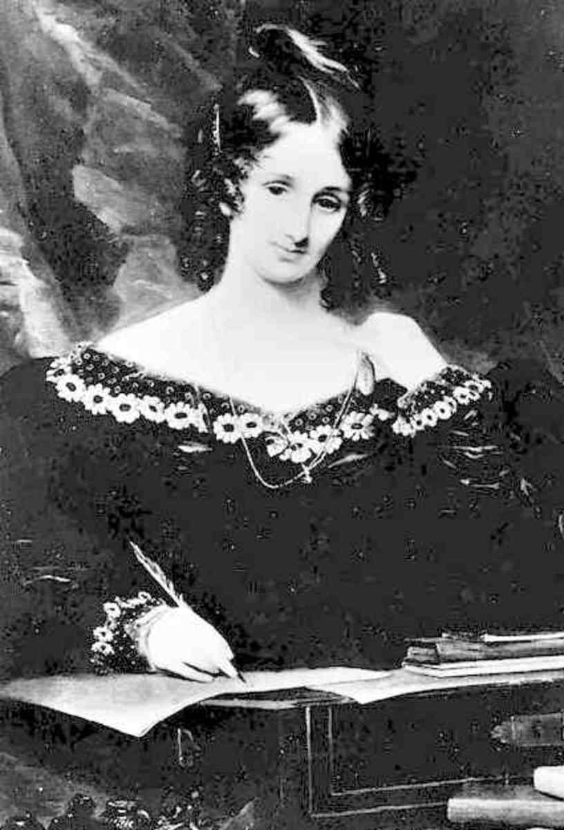 Mary Shelly wrote Frankenstein at only nineteen years of age.