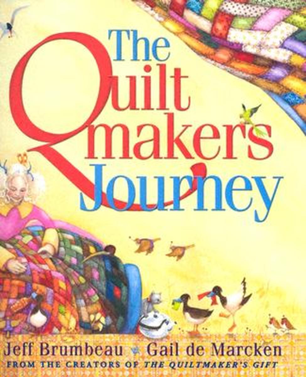 The Quiltmaker's Journey by Jeff Brumbeau book cover