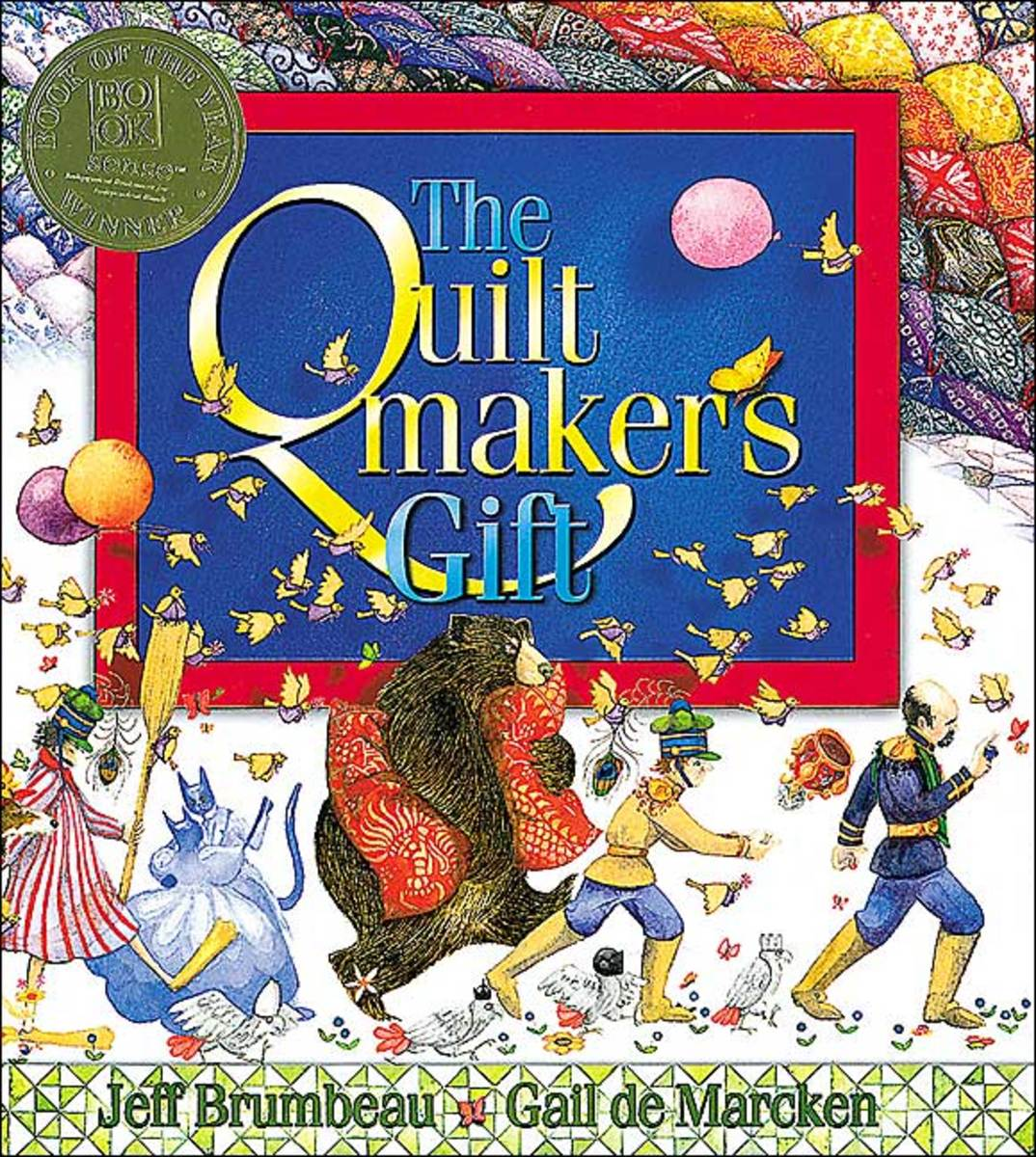 The Quiltmaker's Gift by Jeff Brumbeau book cover