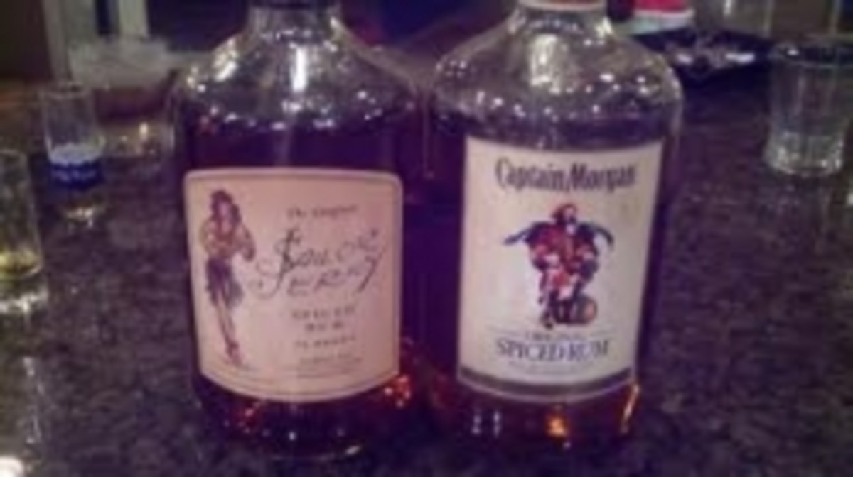 Sailor Jerry vs Captain Morgan