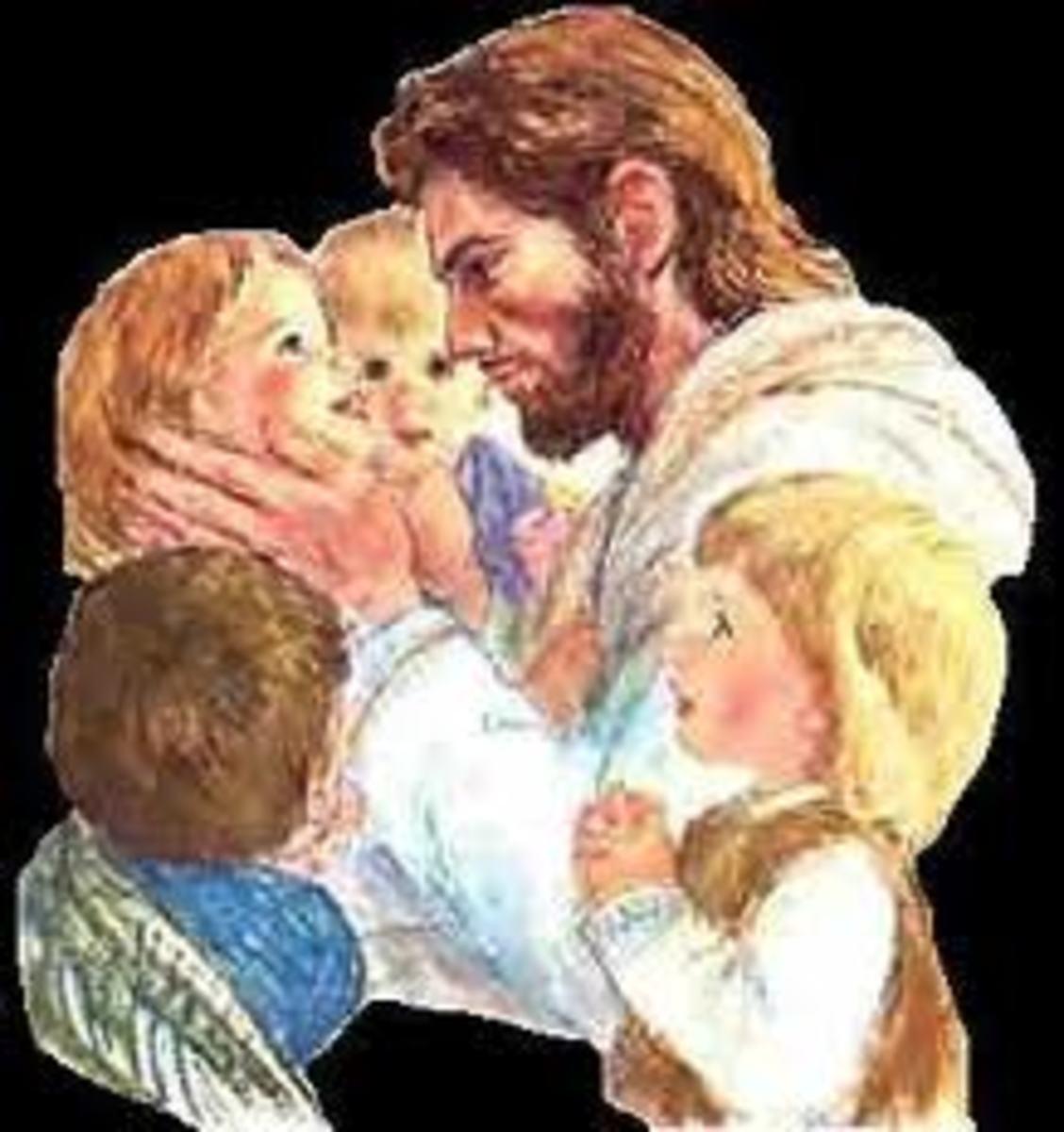 Jesus loves all children.