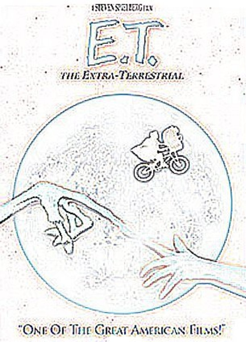 ET the Extraterrestrial Kids Coloring Pages of e.t. and Free Colouring Pictures to Print - Moon Flyby