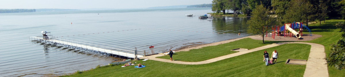 Long Point State Park at Chautauqua Lake