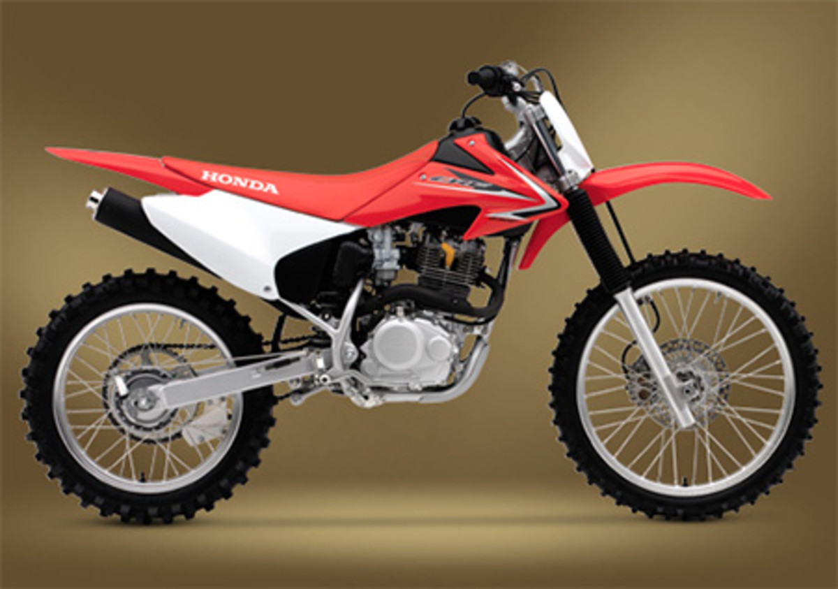 Honda CRF230F - one of the best dirt bikes for women and adult beginners
