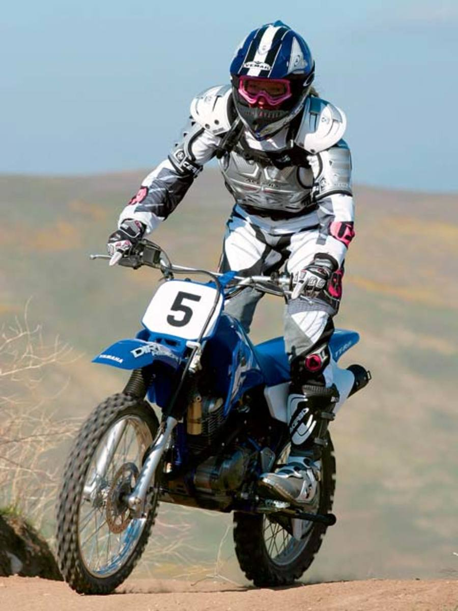 Yamaha TT-R125LE - another great dirt bike for women and teens