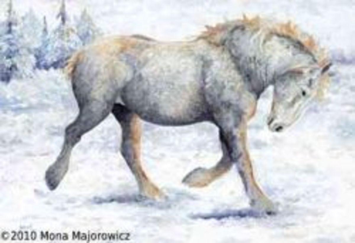 An original painting by MonaMajorowicz
