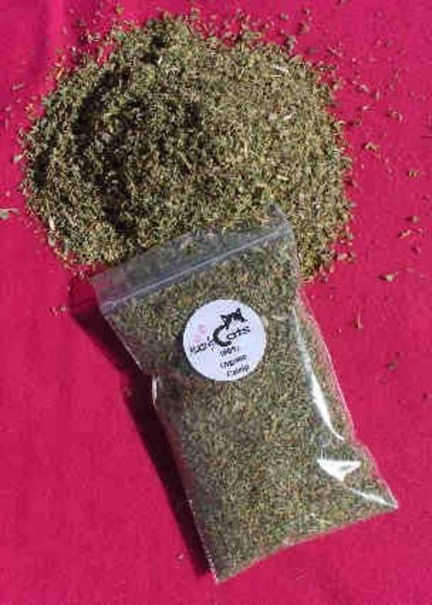 dried catnip