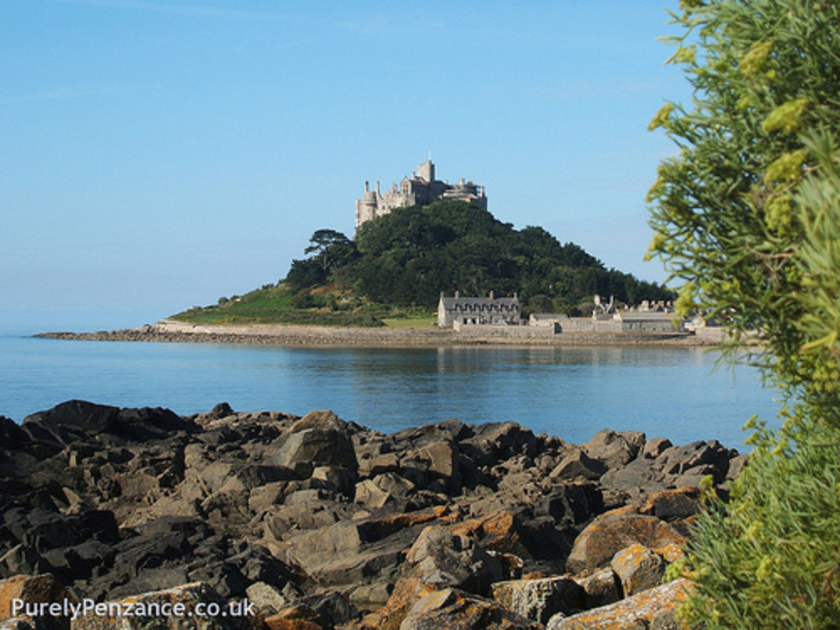 Places to Visit in Cornwall St Michaels Mount, Penzance