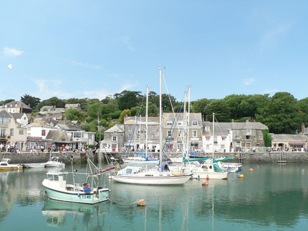 Places to Visit in Cornwall   Padstow Harbour, Cornwall