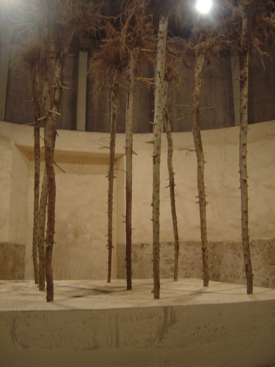 Flailing Trees by Gustav Metzger
