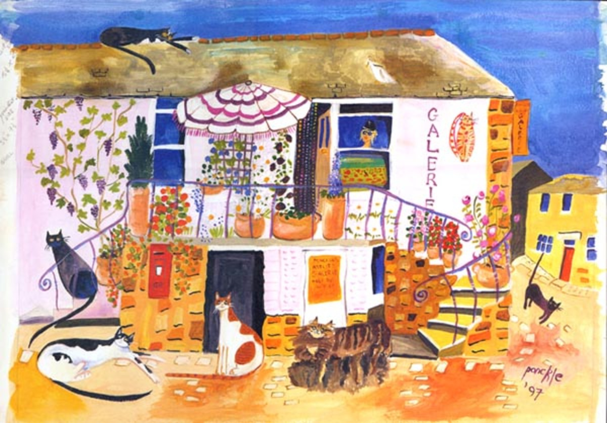 Cornish Art - Ponckles Gallery, St Ives