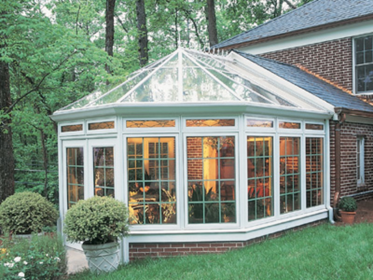 beautiful sun room or organgery
