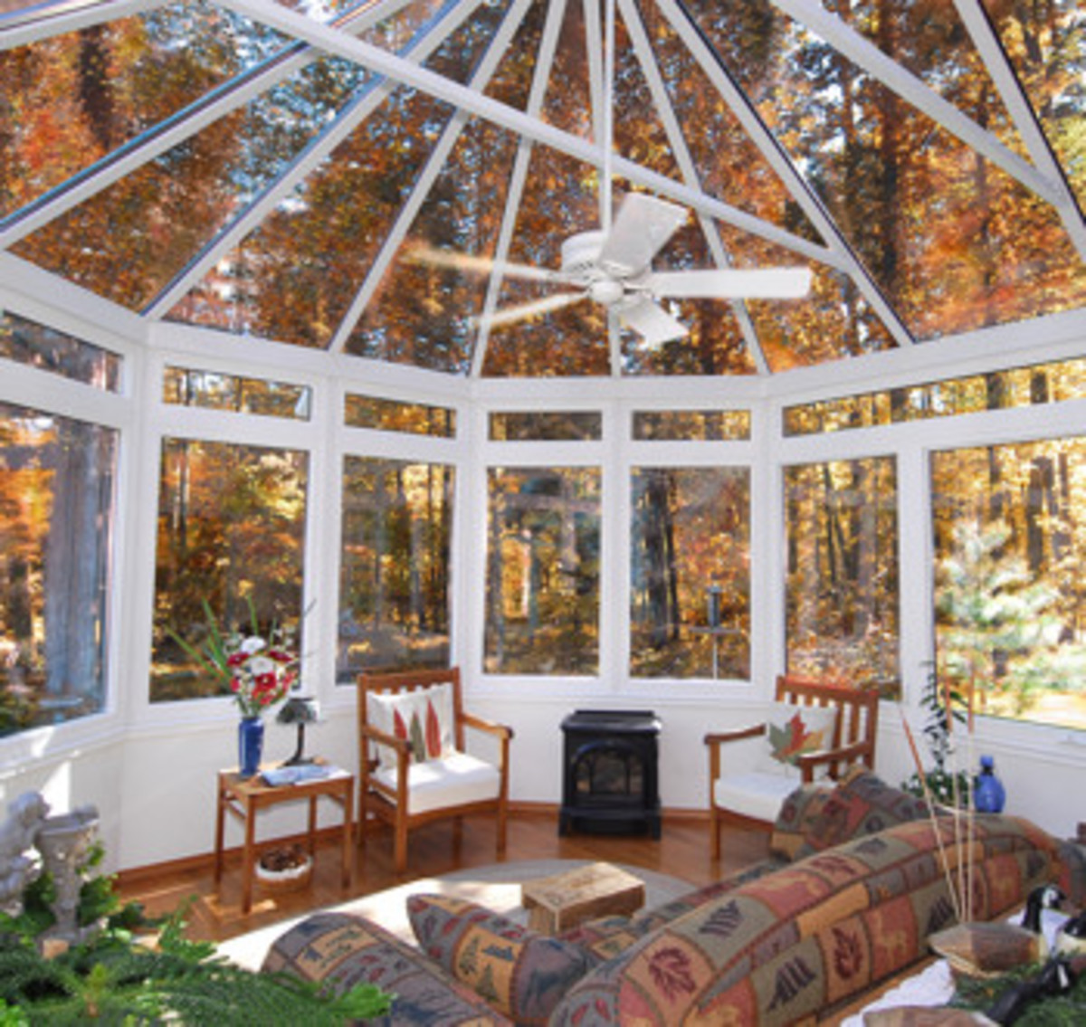 Four Season Beautiful Glass Room