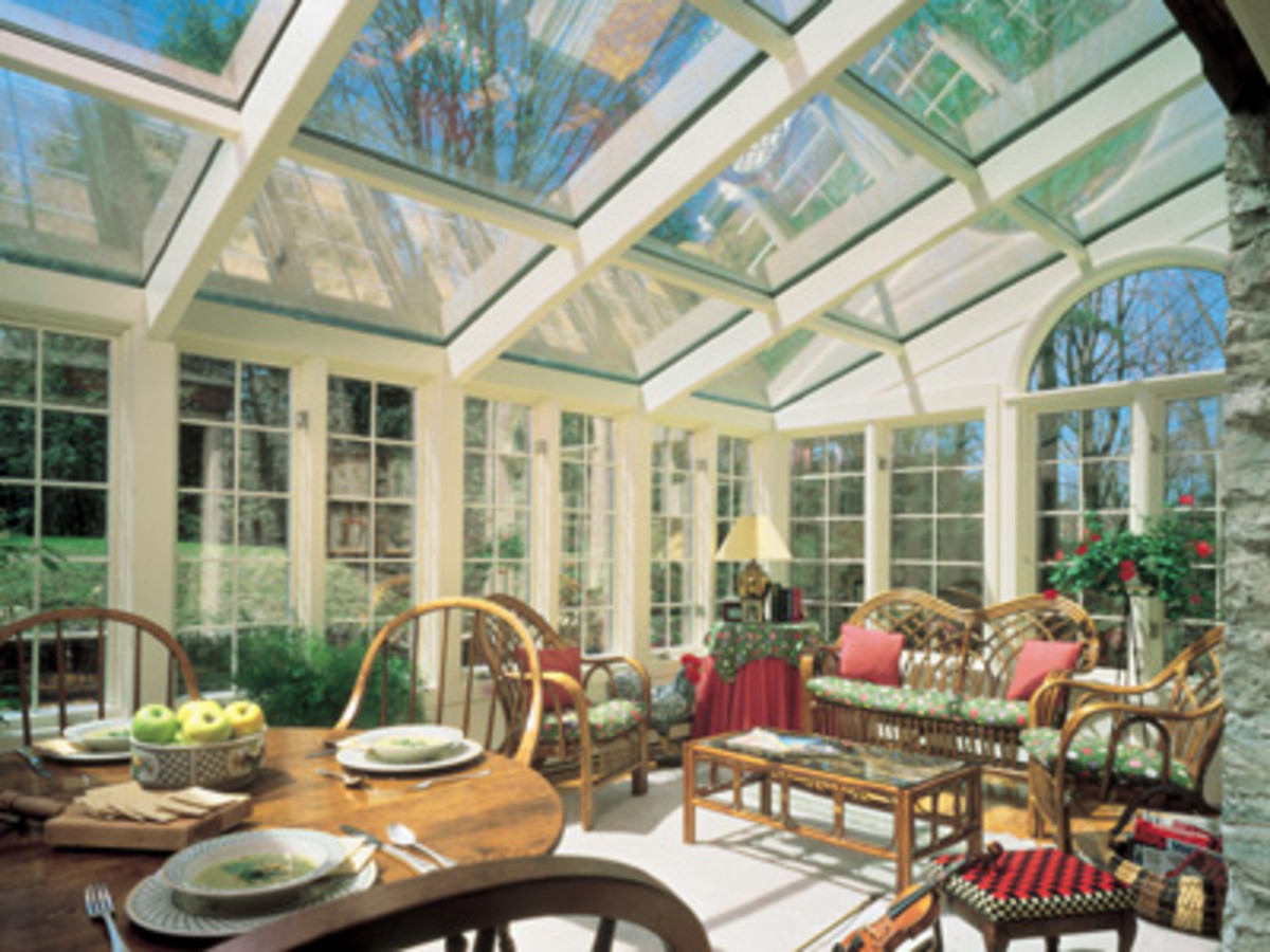 Four Season Beautiful Glass Room
