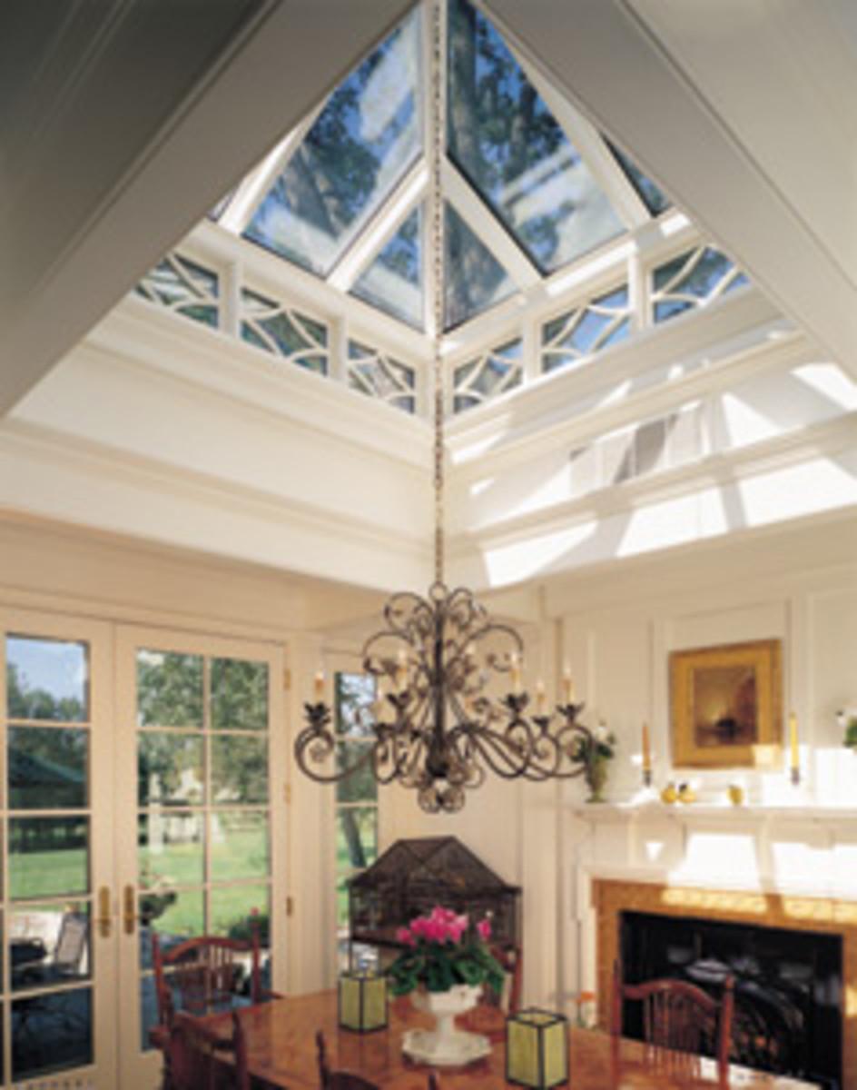 Roof Lantern Interior View