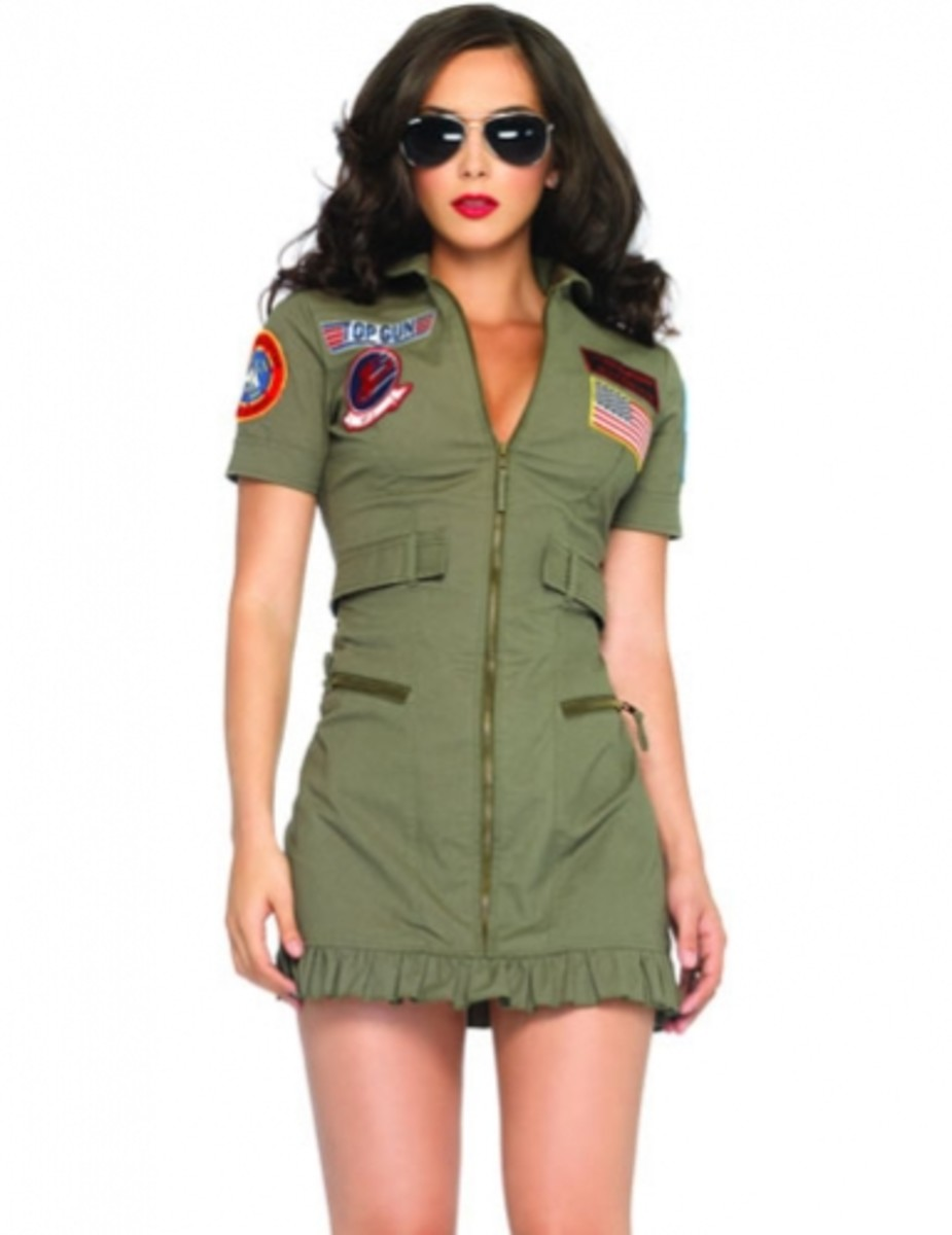 Top Gun and oh so Sexy for Halloween