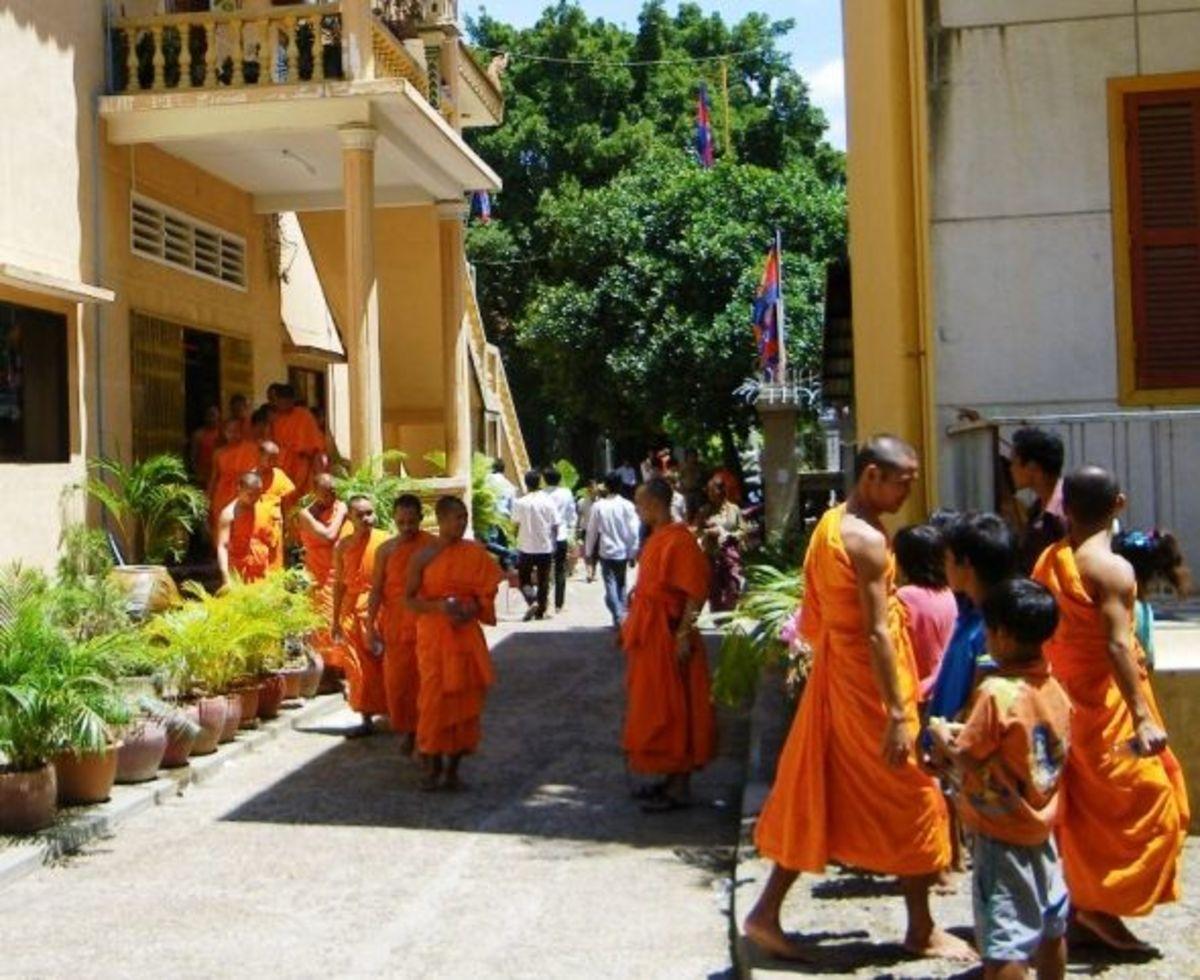 Monastery in Cambodia