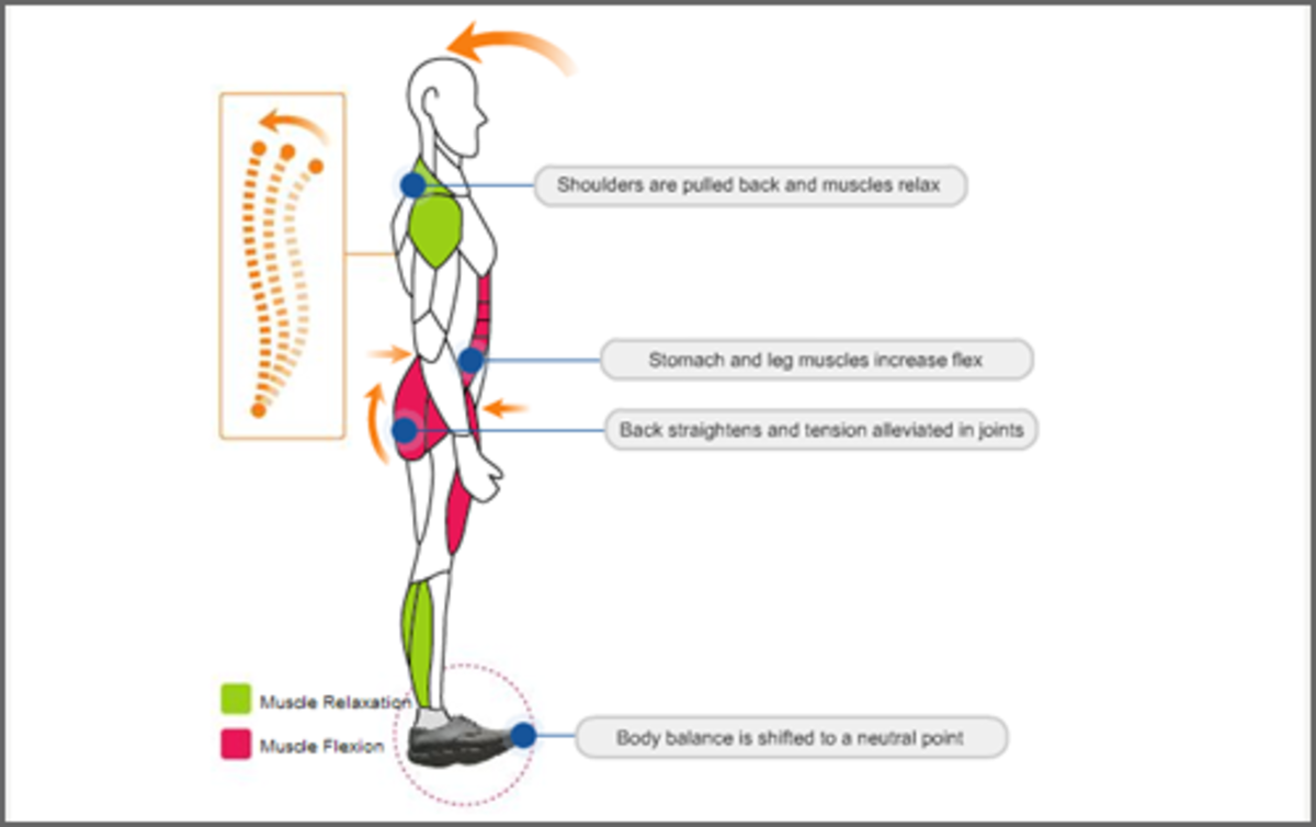 Cogent Shoes Posture Correction and Toning