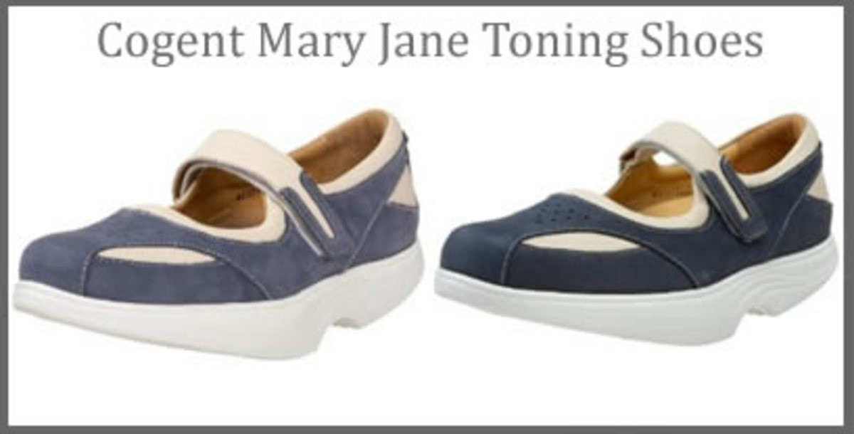 Womens Mary Jane Toning Shoes