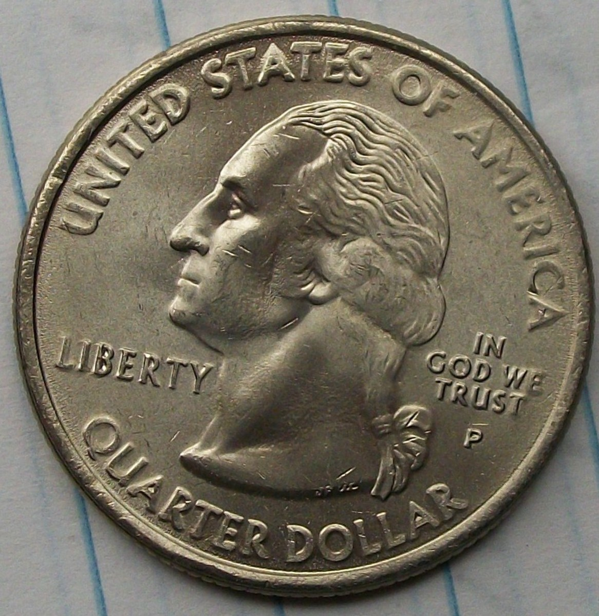 obverse of the 2008P South Carolina Statehood Quarter