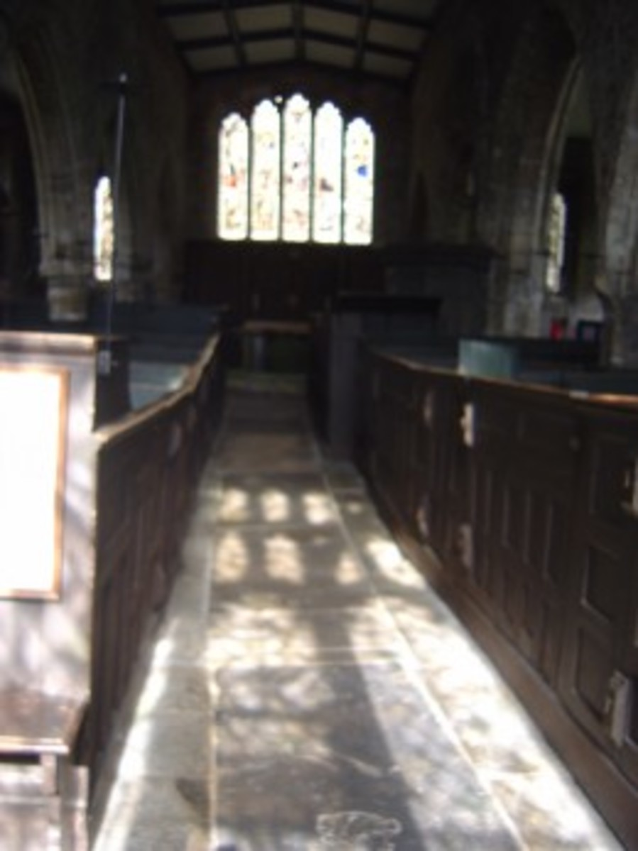 Trintiy Church, buried in the heart of ancient York, is haunted ......