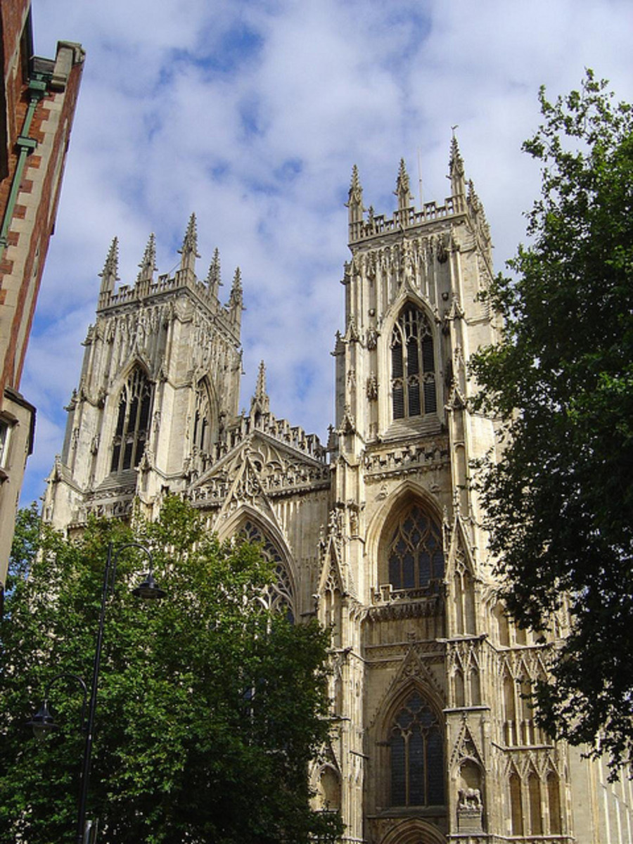 York Minster, symbol of the City, but chocolate has also become an important part of the history of York
