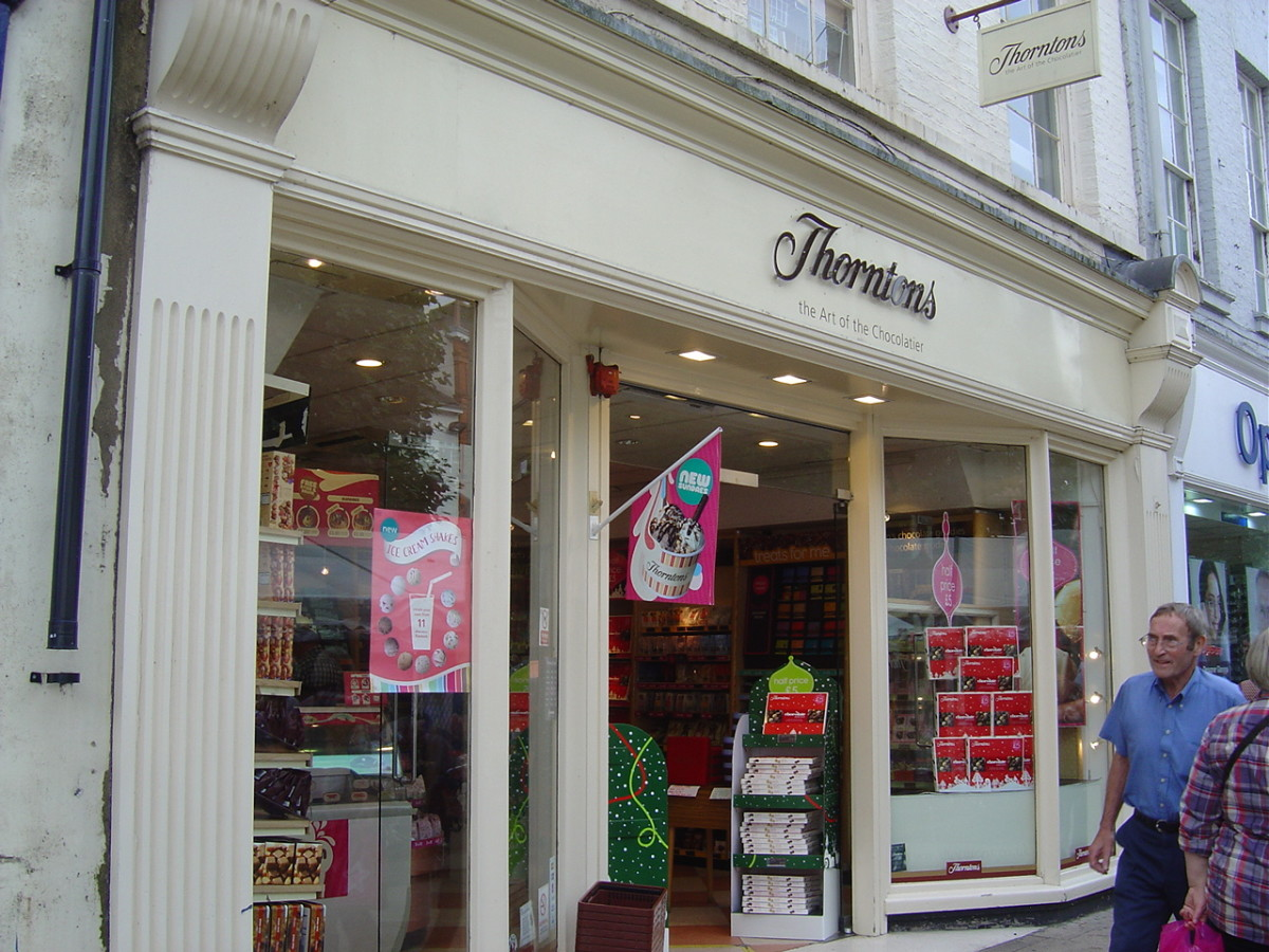 Thorntons began with toffee