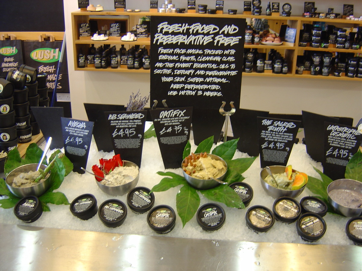 Lush choc cosmetics. Good enough to eat!