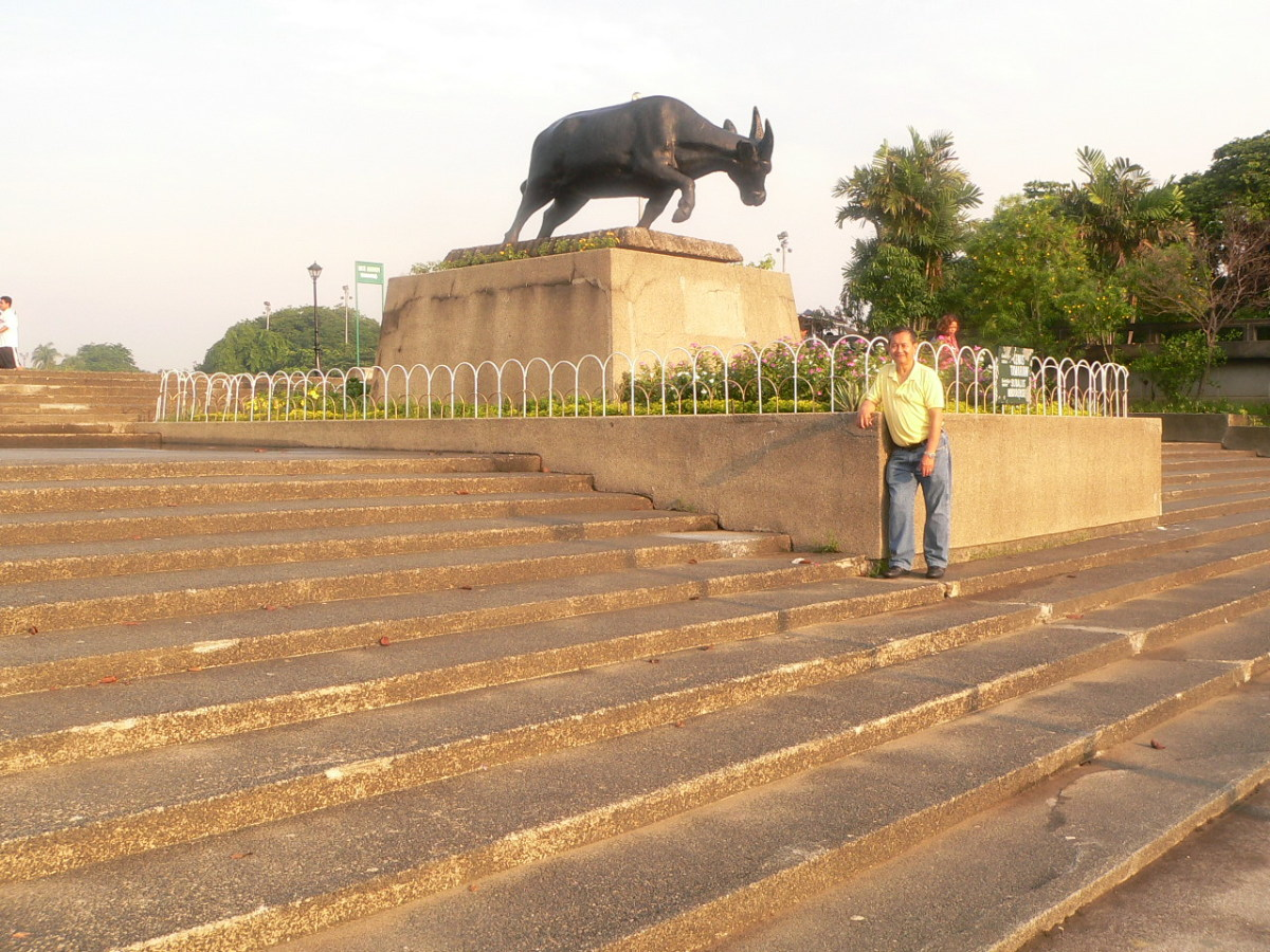 Carabao (Water Buffalo) Monument