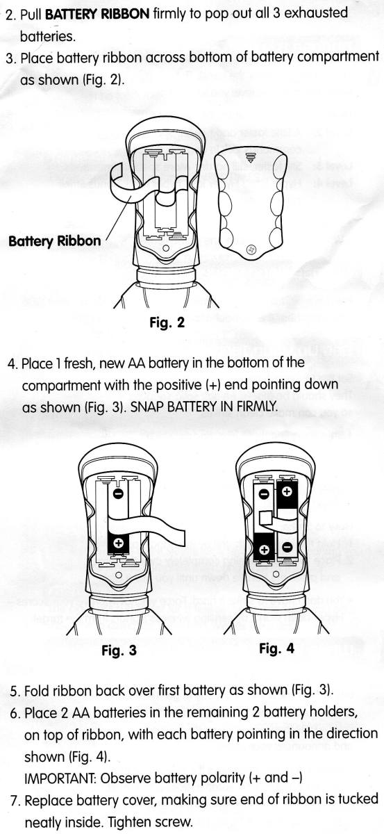 Hyper Dash Battery and Safety Information