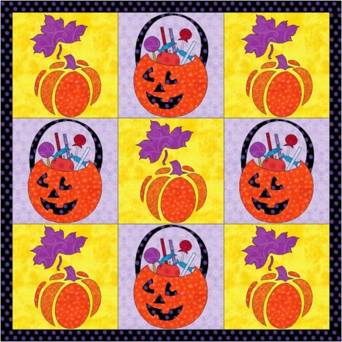 Trick or Treat? Quilt