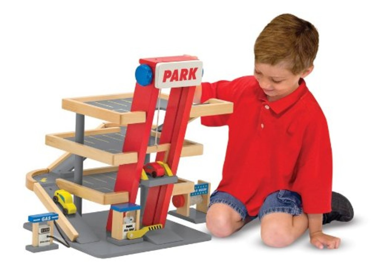 Melissa and Doug Deluxe Parking Garage