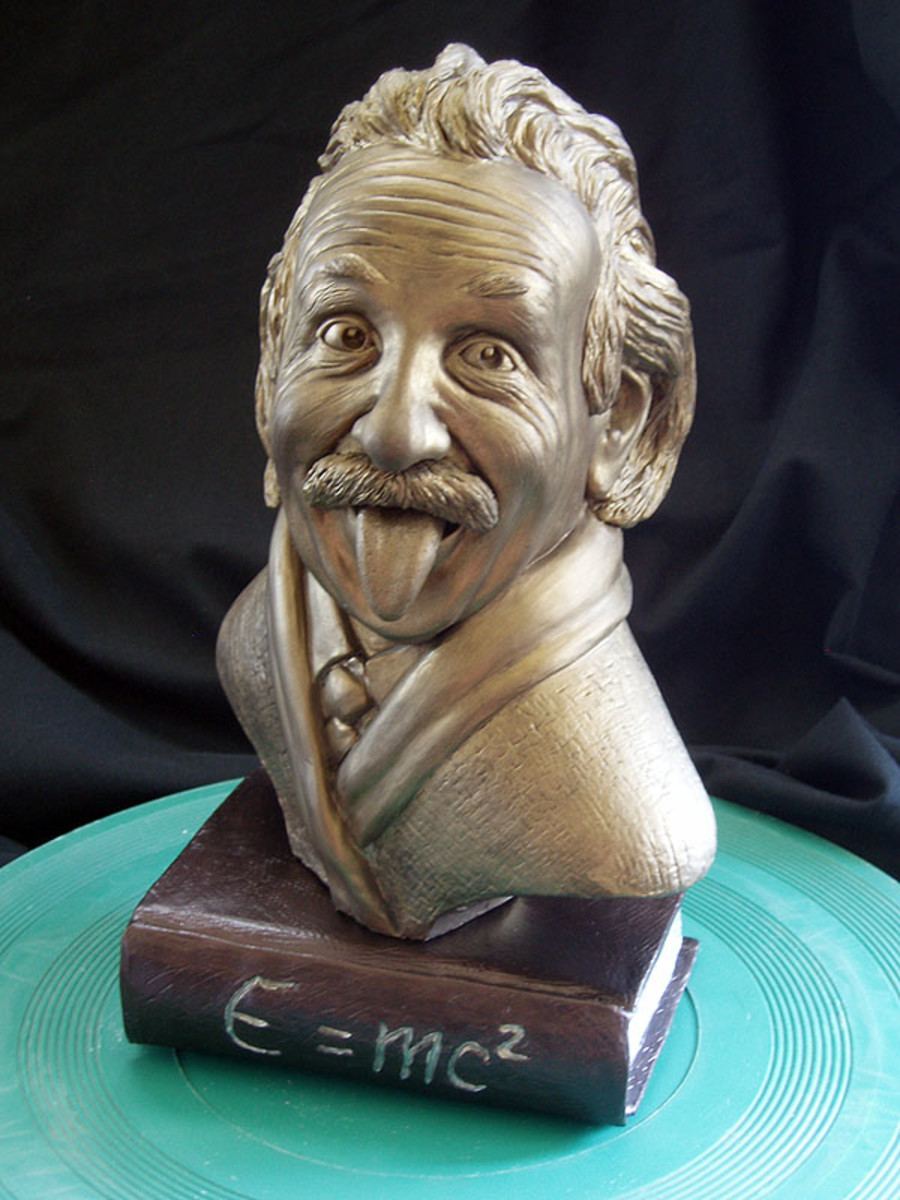 Nice Einstein sculpture