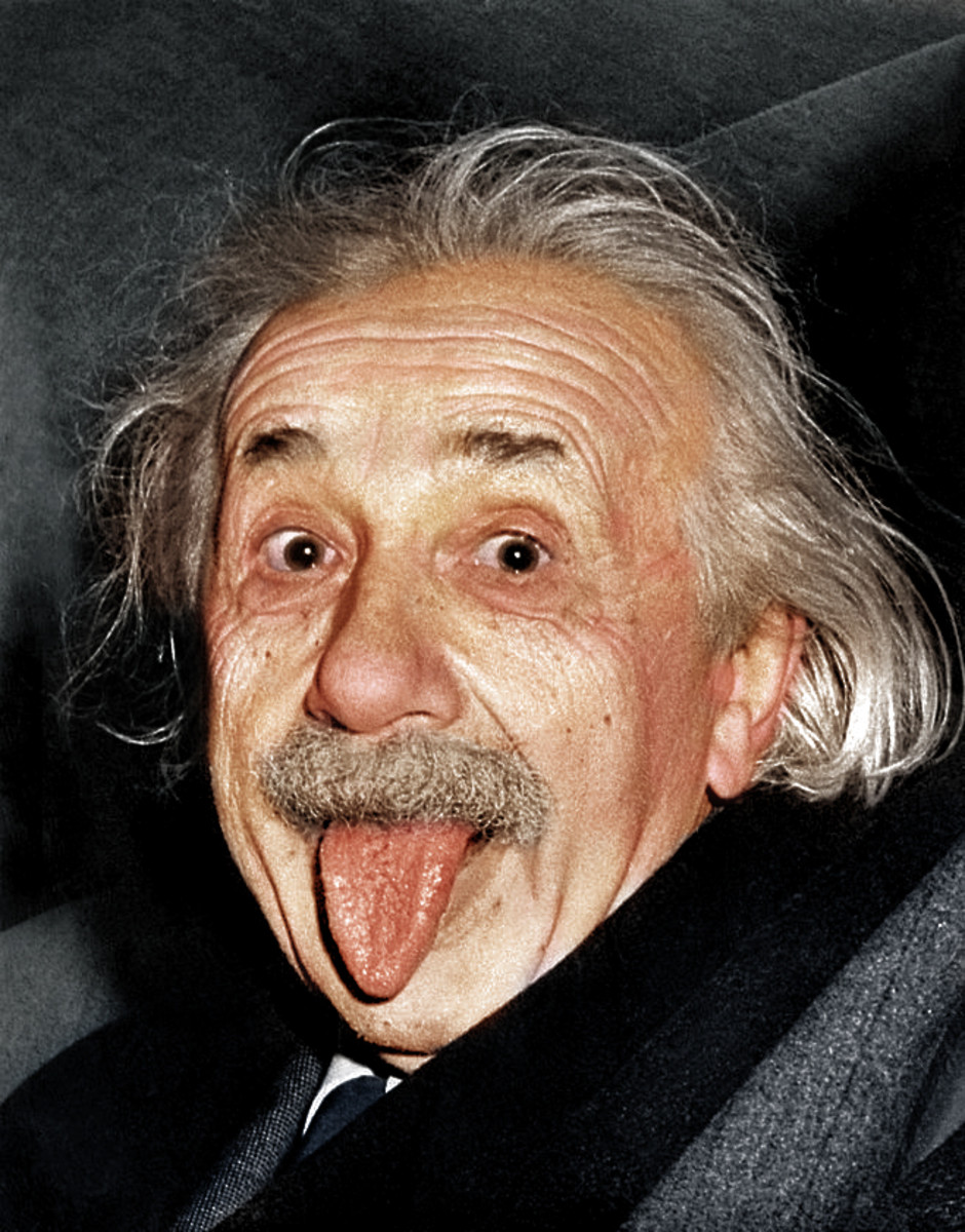 Einstein Recoloring photo