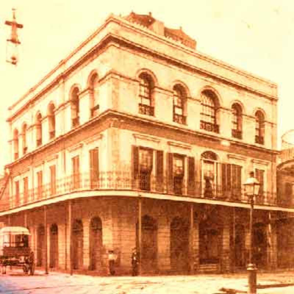 American Ghost Stories Part I: New Orlean's LaLaurie Mansion
