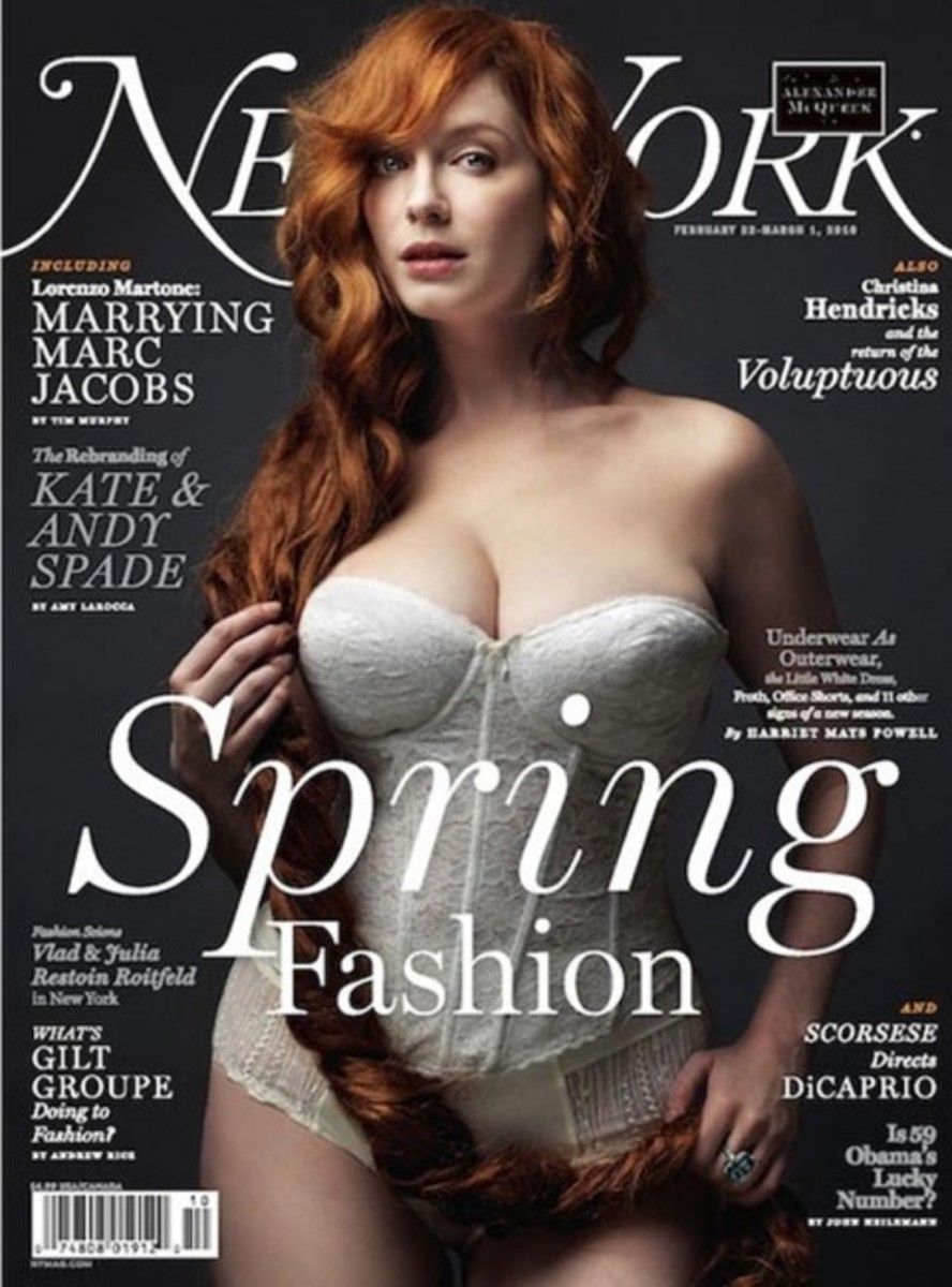 Christina Hendricks, of Mad Men and Firefly, looking Fabulous and Shapely