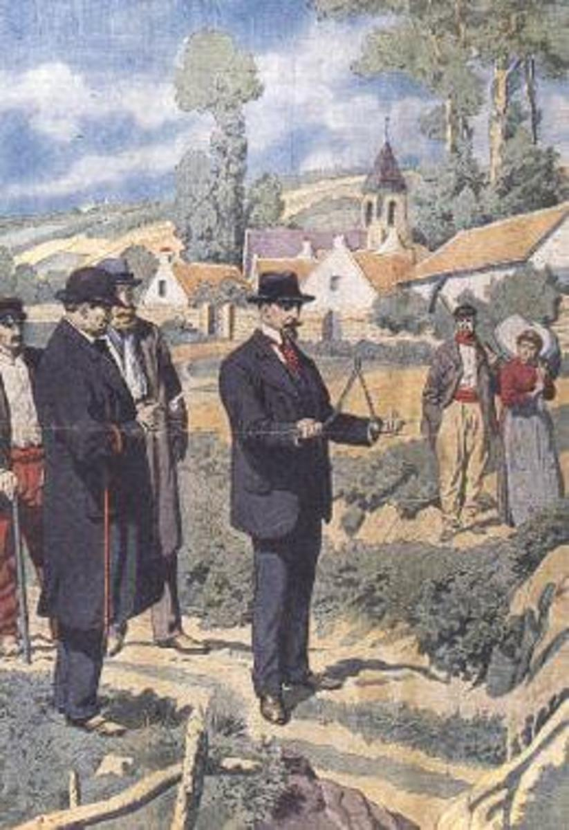Dowsing: The Divining Rod and the Paranormal