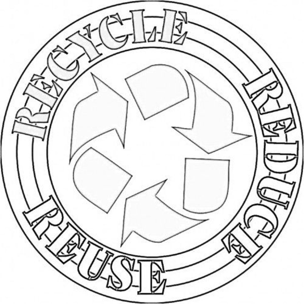 3 rs coloring page