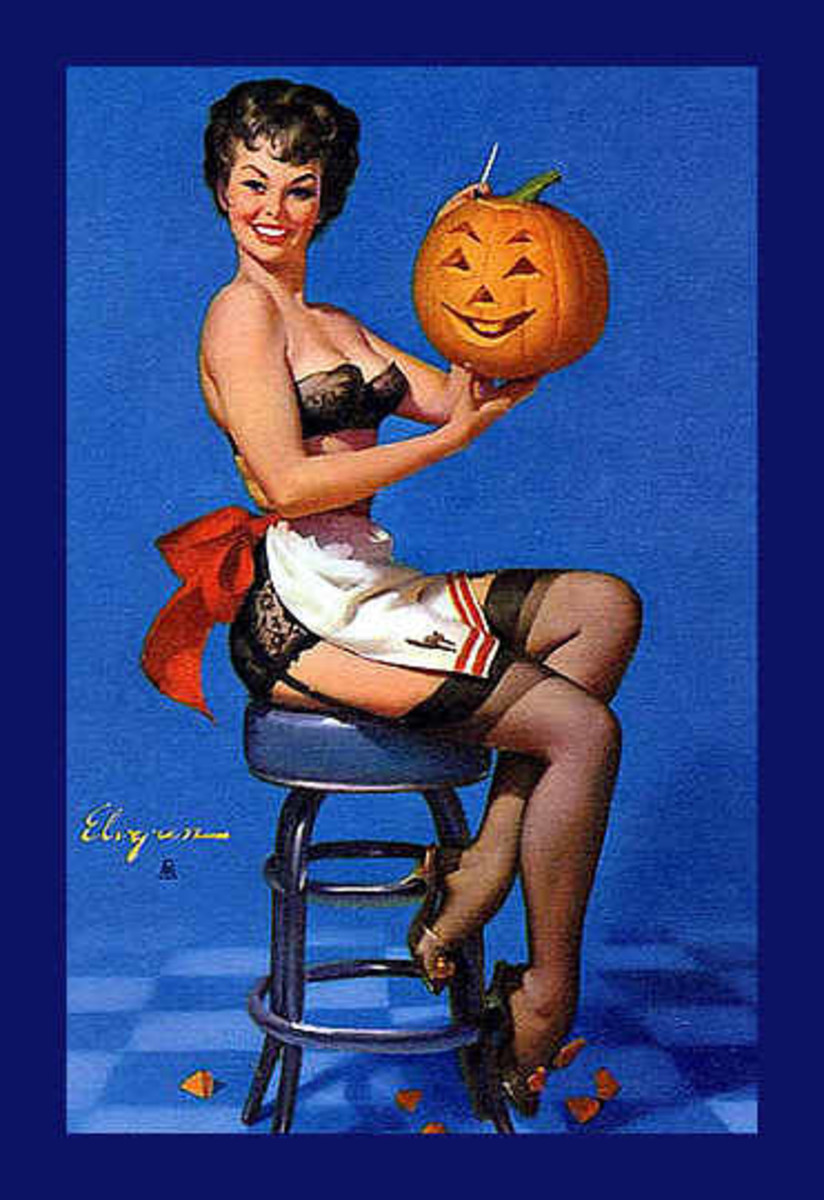 Vintage Hallowe'en Cards