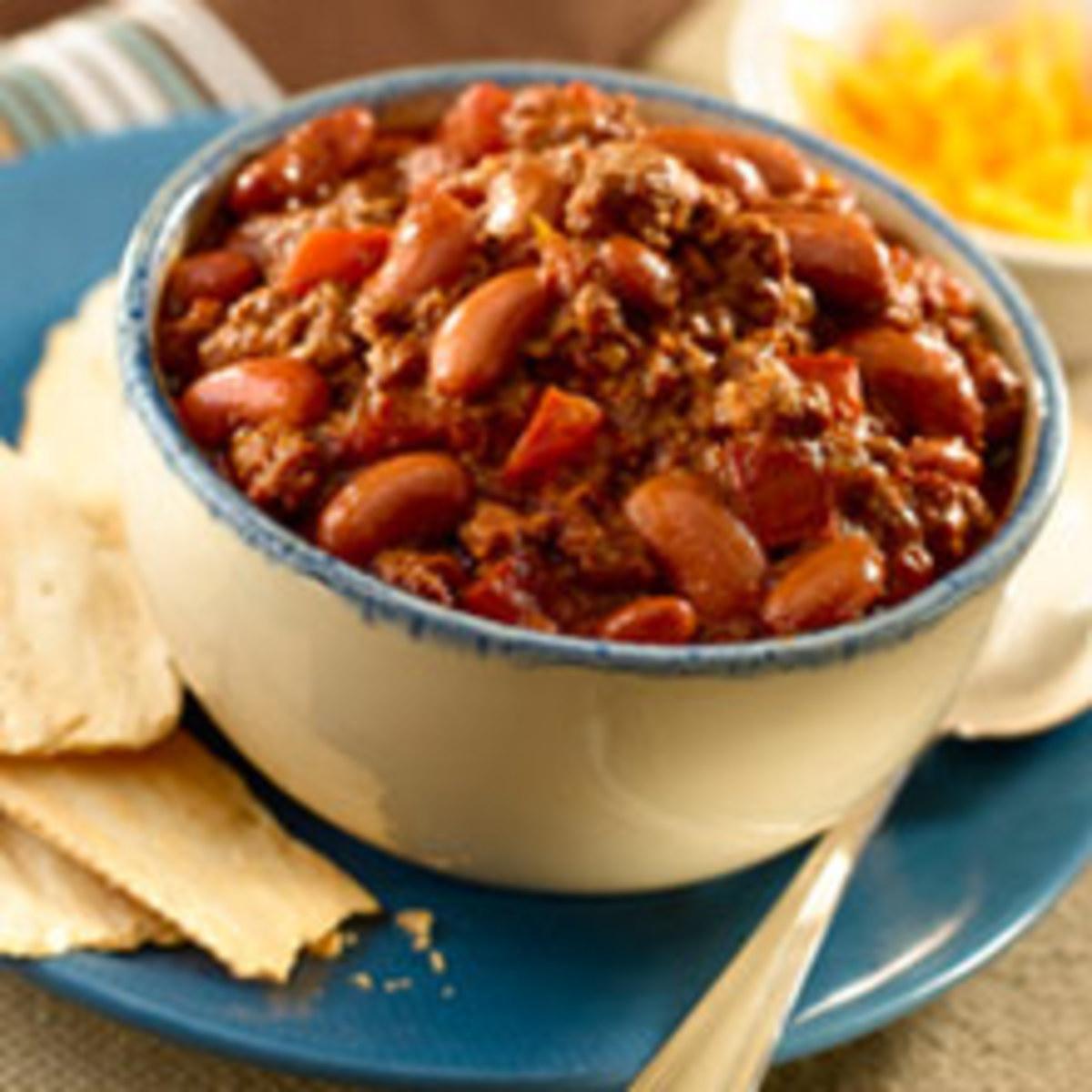 Easy recipes to make chili