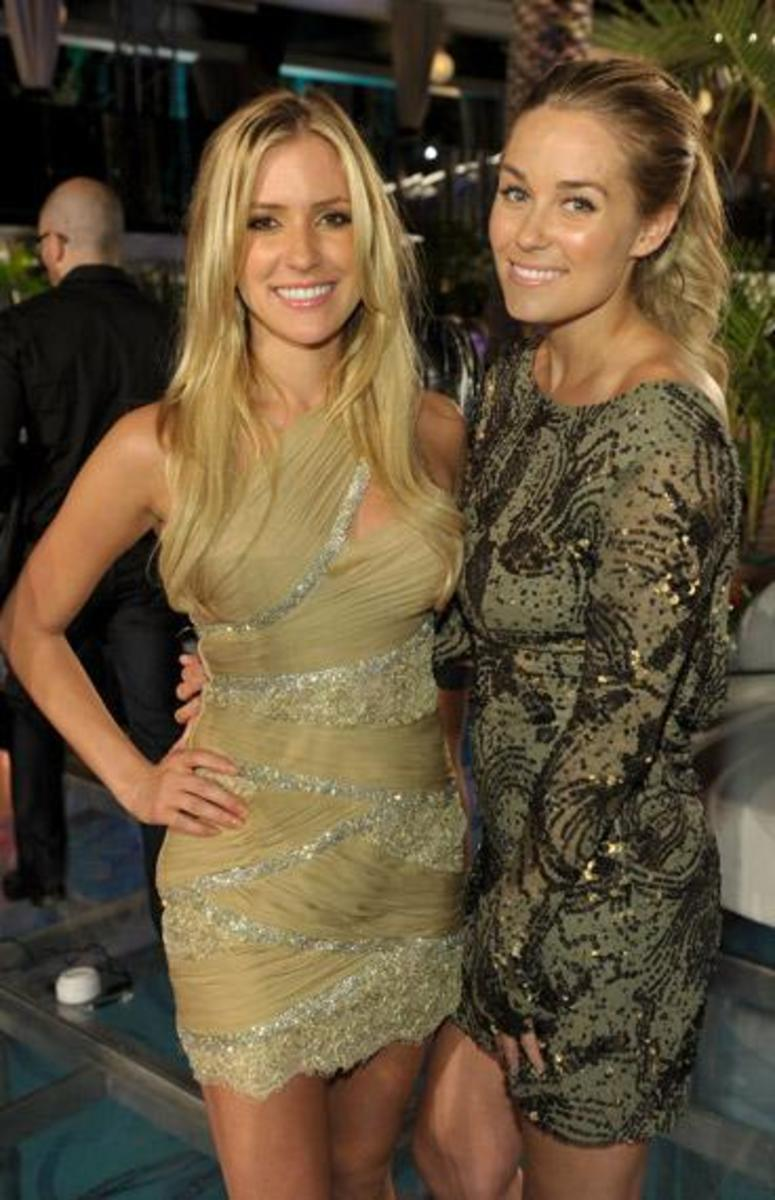 Kristin and Lauren