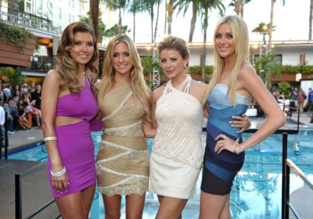 Audrina, Kristin, Lo and Stephanie