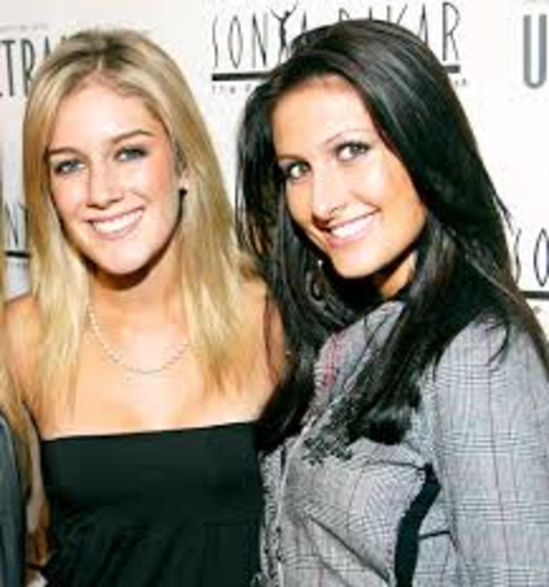 Heidi and Jen Bunney
