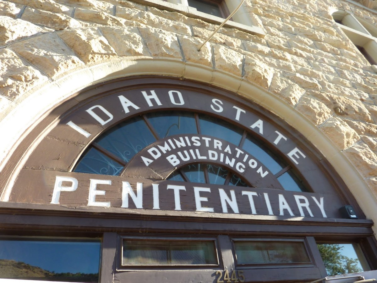 The Administration Building at the old Idaho State Penitentiary