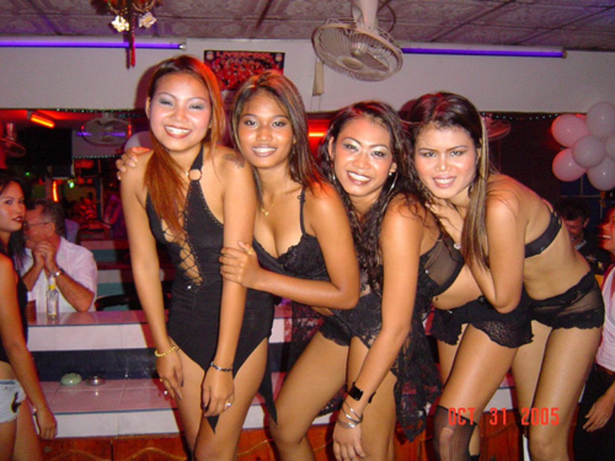 Beautiful Bar Girls