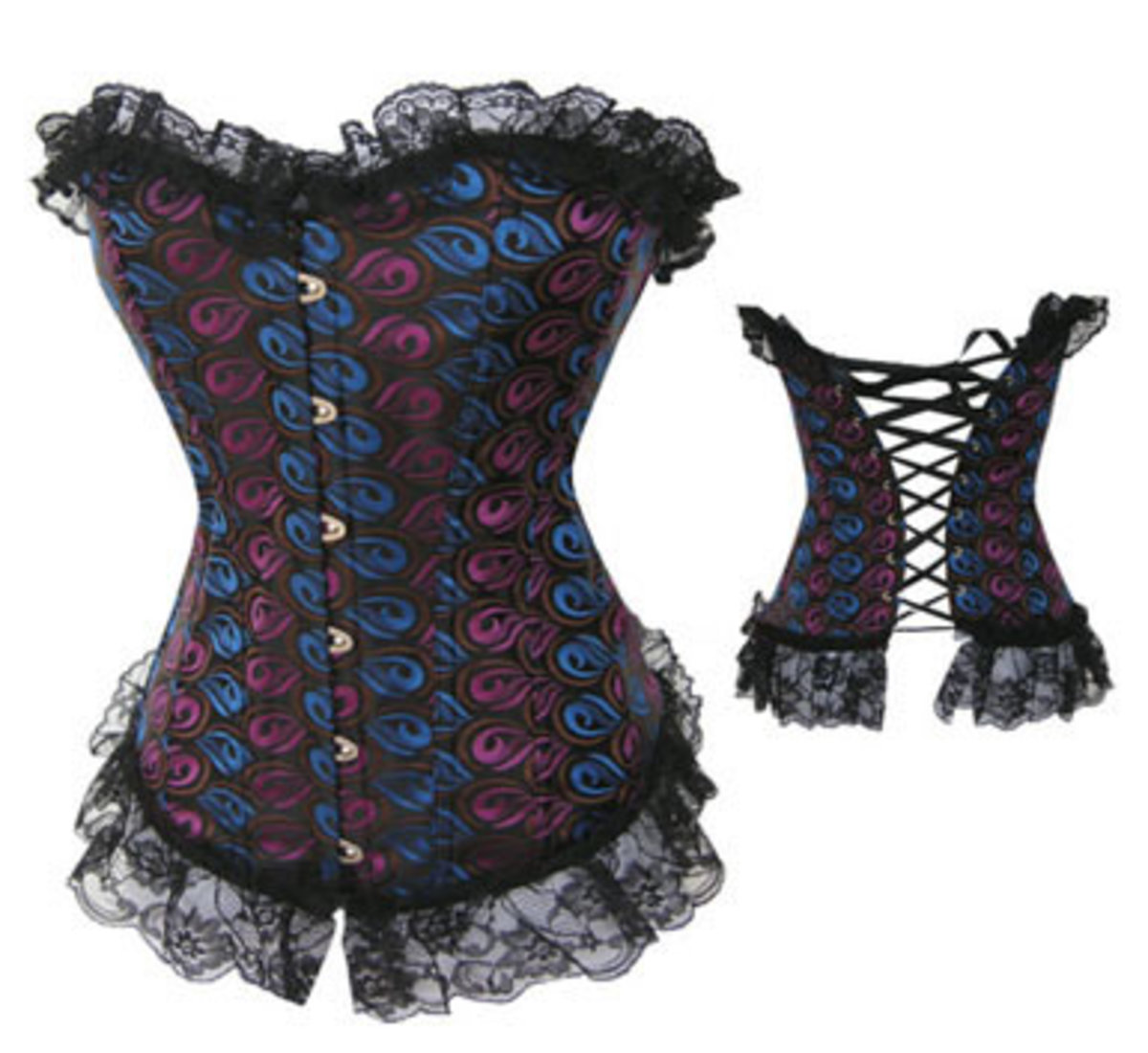 Sexy Lace up Corset for the full figured woman, well any woman ;)