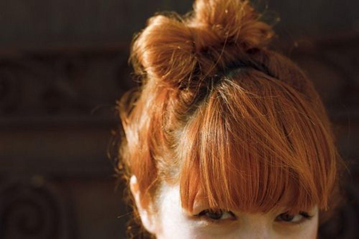 Copper red.